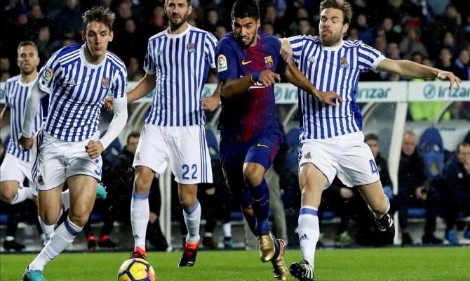 Barcelona intentará ganar en Anoeta