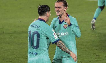 Messi y Griezmann, Barcelona vs Villarreal