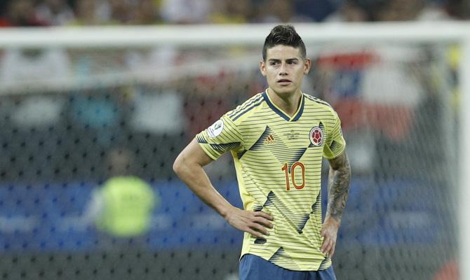 James Rodríguez Colombia vs Venezuela