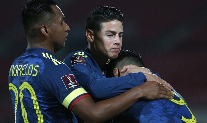 Eliminatorias Qatar 2022 Colombia vs Uruguay