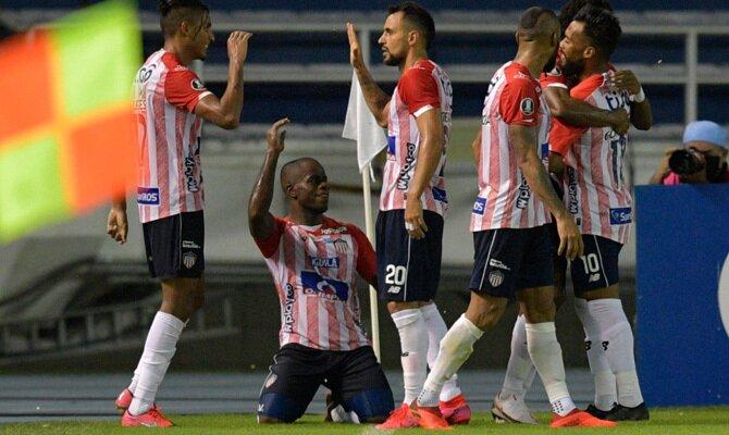 Copa Libertadores Junior vs Unión La Calera
