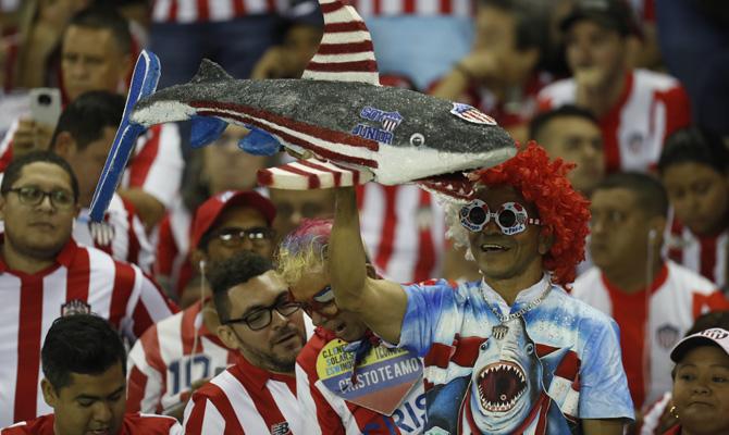 Copa Sudamericana Unión La Calera vs Junior