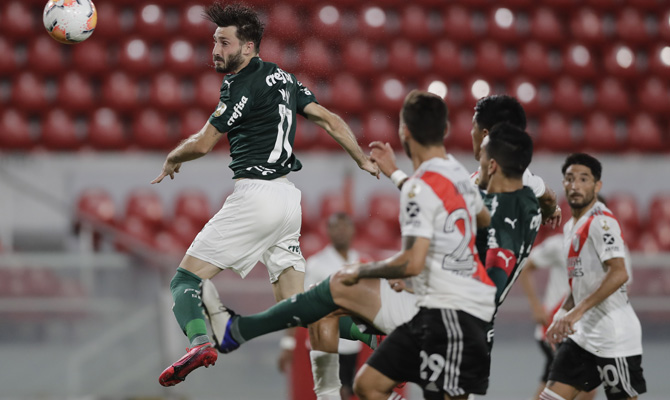 Apuestas Copa Libertadores Palmeiras vs River Plate