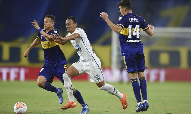 Apuestas Copa Libertadores Santos vs Boca Juniors