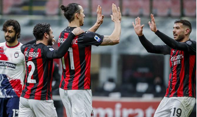 Ibrahimovic y Theo Hernández será dos de los jugadores clave en el duelo entre Milan vs Inter