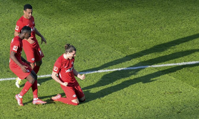 Marcel Sabitzer es uno de los jugadores que más puede influir en las cuotas del RB Leipzig vs Borussia Mönchengladbach