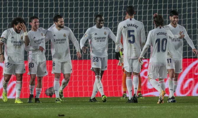 Mendy tratará de repetir celebración de gol con sus compañeros para cumplir con los pronósticos del Real Madrid vs Valencia