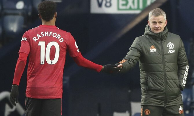 Rashford y Solksjaer esperan obtener un marcador positivo en el Real Sociedad vs Manchester United