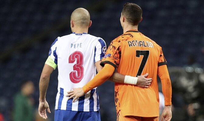 Pepe y Cristiano Ronaldo se reencontrarán en el Juventus vs Porto. Revisa nuestros picks para este duelo de Champions League