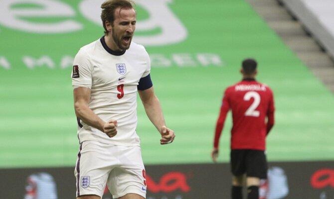 Harry Kane, en la imagen, será uno de los jugadores a seguir en los pronósticos del Inglaterra vs Polonia